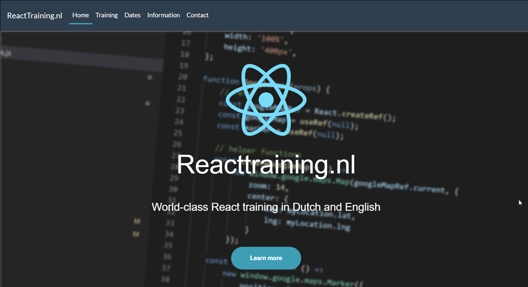 Reactraning.nl - World-class live classrooms, in Dutch and English