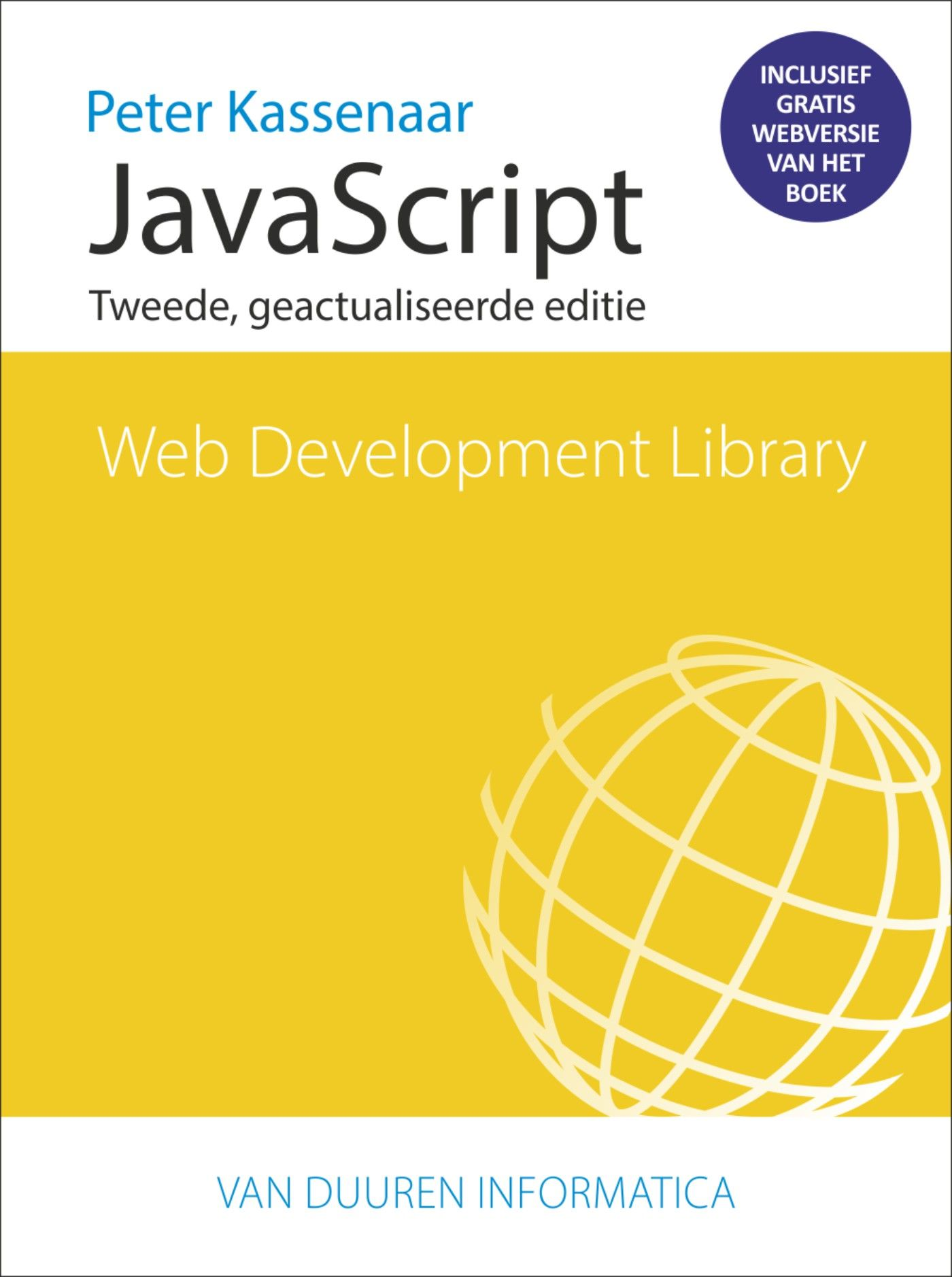 Cover van Web Development Library - JavaScript (2e editie)