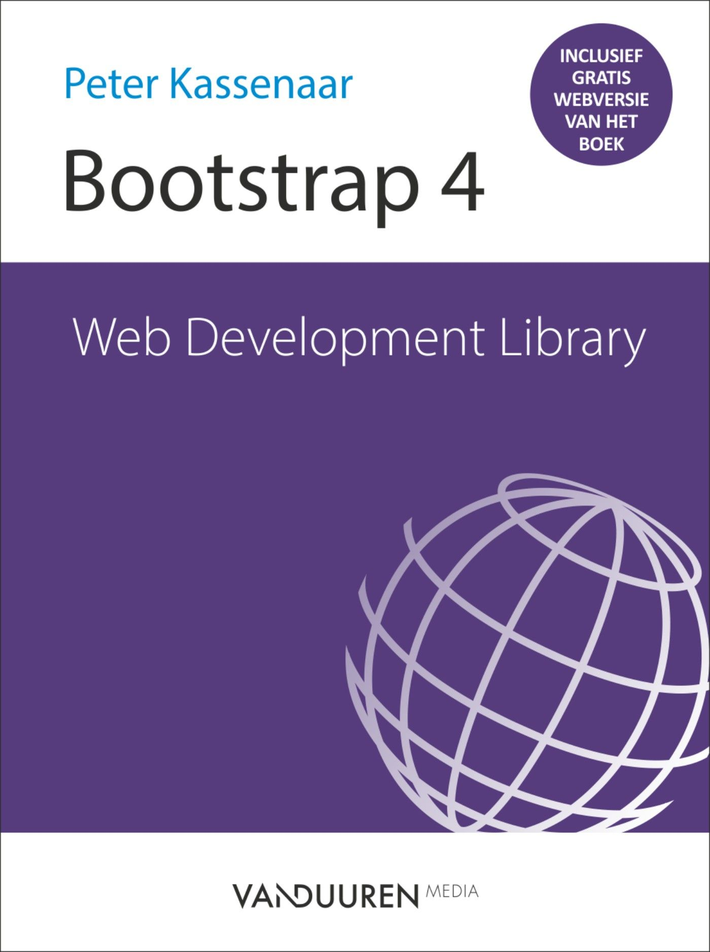 Cover van Web Development Library - Bootstrap