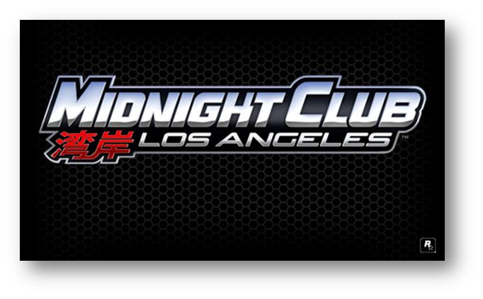 Midnight Club: Los Angeles Logo screen