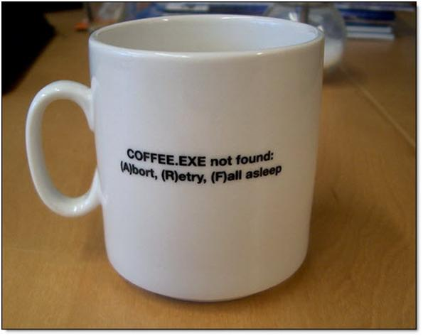 Programmers coffee mug