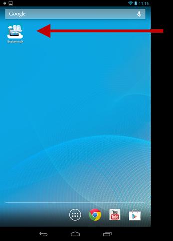 Snelkoppeling op Android Startscherm