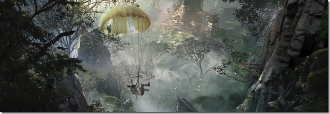 Tomb Raider: Parachute Descent