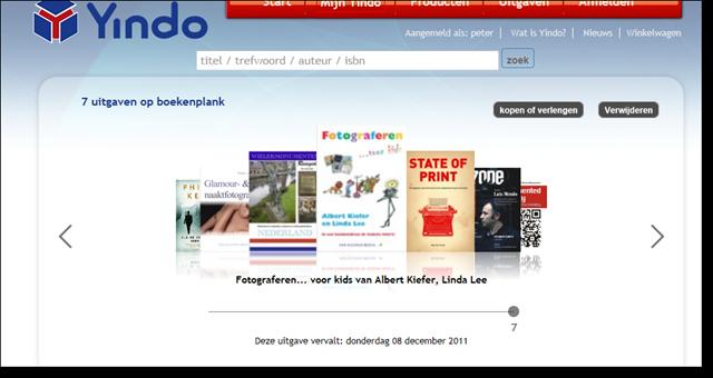 Yindo_html_bookshelf