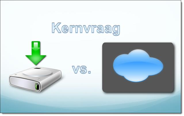 Download versus Cloud