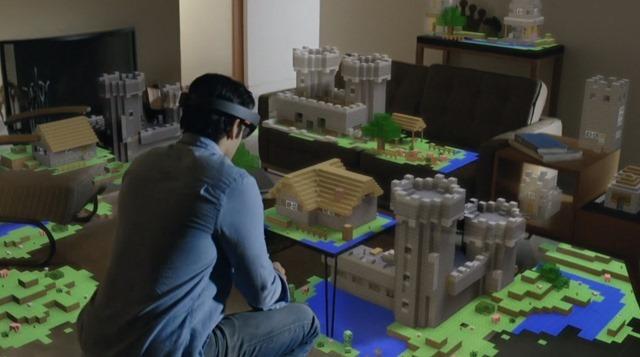 MineCraft live in je eigen huiskamer. Opslaan en de volgende dag doorspelen!
