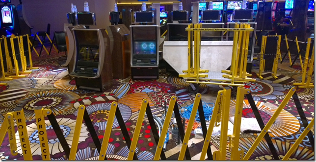Repairing slot machines at MGM Grand