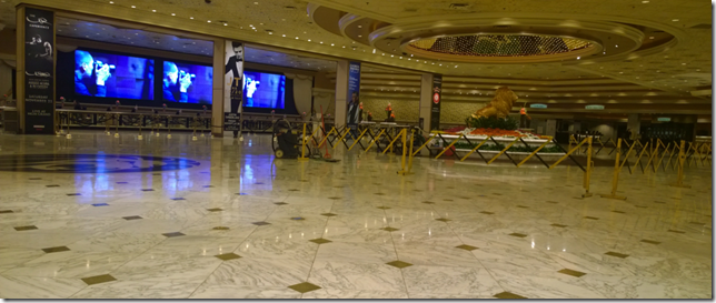 MGM Grand Empty Lobby