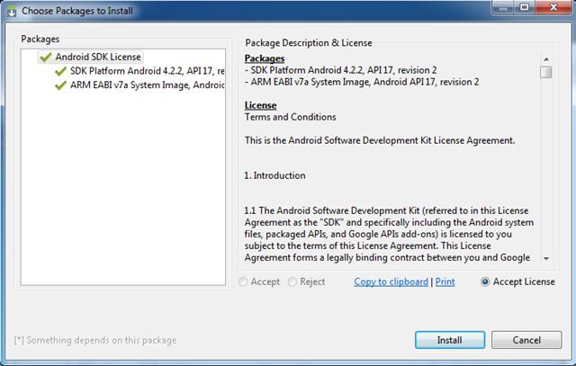 Installeer de nieuwe API-bestanden