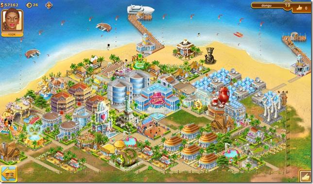 Paradise Island - voorbeeldeiland