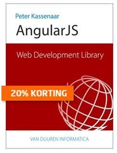 Web Development Library - AngularJS tijdelijk met vijf euro korting