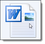 Pictogram Microsoft Word